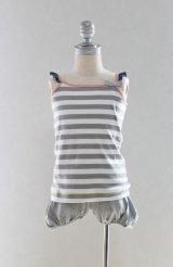[SALE]Eva&Oli(エヴァ&オリ)CRYSTAL-Boy Stripes キャミソール 8歳125cm