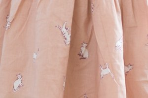画像2: Je suis en CP!(ジュスィザンセーペー) New Ladybird Dressレディバードドレス(キャット) 2歳82-86cm