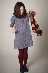 LIHO London(リホロンドン) ANASTASIA小花柄ワンピース(ネイビースモールフラワー)4歳6歳