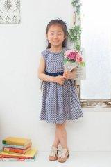 Malvi&Co.(マルヴィ) クローバープリントドレス 7歳8歳10歳