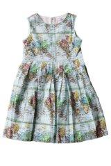 Rachel Riley(レイチェル・ライリー)Map Dressワンピース(マッププリントドレス) 6歳8歳