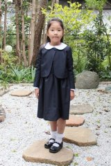 【JiJiオリジナル】 smock shop×JiJi コラボ第2弾セットで着られるボレロ3歳5歳6歳