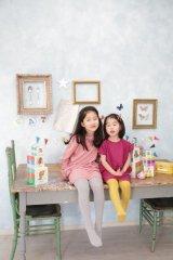 Soft Gallery(ソフトギャラリー)ADELEラグラン長袖ワンピース(ピンク)5歳6歳