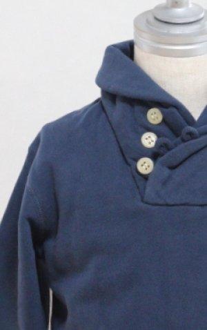 画像1: 4歳6歳 【SALE!!30%オフ!!】 American Outfitters(アメリカンアウトフィッターズ) SJAWL ボーイズバイカラースウェット(ネイビー)
