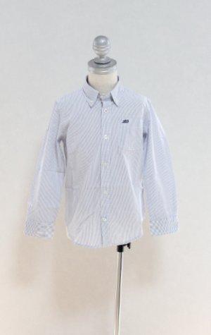 画像2: 2歳4歳 【SALE!!30%オフ!!】 American Outfitters(アメリカンアウトフィッターズ) ボタンダウンシャツ(ブルーストライプ)