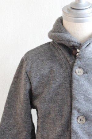 画像1: 2歳6歳 【SALE!!30%オフ!!】 American Outfitters(アメリカンアウトフィッターズ) 子供用CARDIGAN PLAINスウェットカーディガン(ダークフォード)