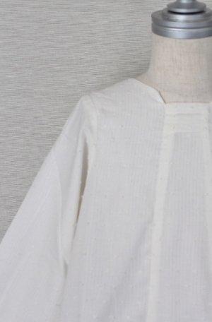 画像1: 【SALE!!30%OFF!!】 Eponime(エポニーム) 長袖ワンピース(ホワイト)2歳90cm