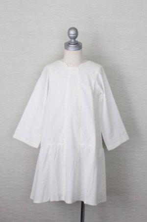 画像2: 【SALE!!30%OFF!!】 Eponime(エポニーム) 長袖ワンピース(ホワイト)2歳90cm