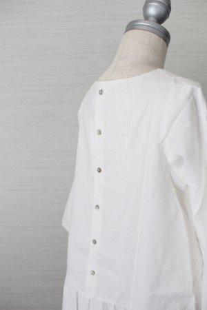 画像4: 【SALE!!30%OFF!!】 Eponime(エポニーム) 長袖ワンピース(ホワイト)2歳90cm