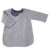 Eponime(エポニーム) 襟元切替長袖ワンピース(スター)3歳4歳