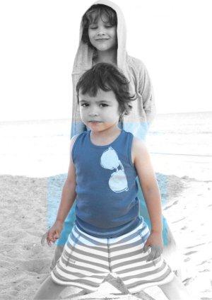 画像3: 18か月 【SALE!!30%OFF!!】 Eva&Oli(エヴァ&オリ) HENRY ボーイズタンクトップミッドナイト