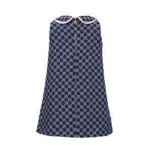 画像4: 【SALE!!30%オフ!!】Hucklebones(ハックルボーンズ) Double Collar Shift Dress 花びらドレス 6歳116cm