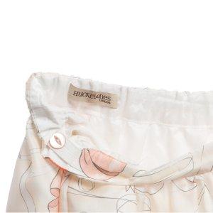 画像4: 【SALE!!30%オフ!!】Hucklebones(ハックルボーンズ) Printed Silk Gathered Skirt プリントシルクギャザースカート(リボンプリント) 10歳140cm