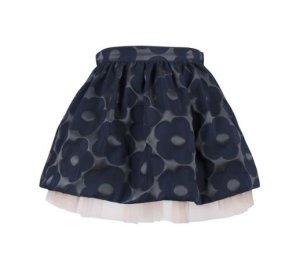 画像1: 【SALE!!30%オフ!!】Hucklebones(ハックルボーンズ) Buttercup Gathered Skirt バターカップギャザースカート(ネイビー) 2歳92cm