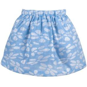 画像2: 【SALE!!30%オフ!!】Hucklebones(ハックルボーンズ) Glitter Petal Skirtグリッターペタルスカート(ジェリービーンブルー) 2歳92cm