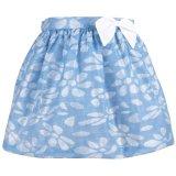 【SALE!!30%オフ!!】Hucklebones(ハックルボーンズ) Glitter Petal Skirtグリッターペタルスカート(ジェリービーンブルー) 2歳92cm