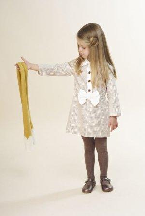 画像5: 【SALE!!】Hucklebones(ハックルボーンズ) Ditsy Print Short Dress プリントショートリボンドレス2歳92cm