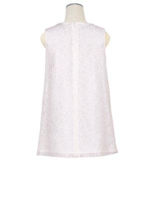 画像3: 【SALE!!】Hucklebones(ハックルボーンズ) Lace Origami Bow Dress ホワイトレースドレス 3歳98cm