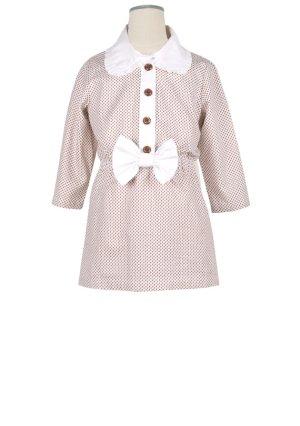 画像2: 【SALE!!】Hucklebones(ハックルボーンズ) Ditsy Print Short Dress プリントショートリボンドレス2歳92cm