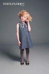 Hucklebones(ハックルボーンズ) Double Collar Shift Dress 花びらドレス6歳116cm