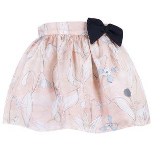 画像1: 【SALE!!30%オフ!!】Hucklebones(ハックルボーンズ) Printed Silk Gathered Skirt プリントシルクギャザースカート 10歳140cm