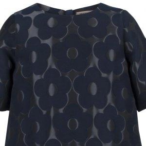 画像4: 【SALE!!30%オフ!!】Hucklebones(ハックルボーンズ) Buttercup Shift Dressバターカップシフトドレス(ジャガードネイビー) 2歳92cm