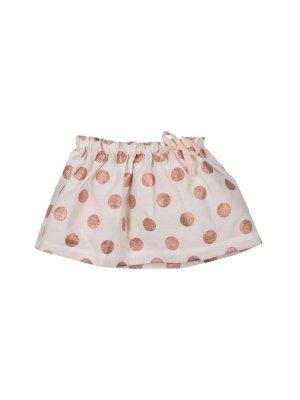 画像1: 【SALE!!30%オフ!!】Hucklebones(ハックルボーンズ) Party Polka Gathered Skirt 水玉ギャザースカート 12ヶ月80cm
