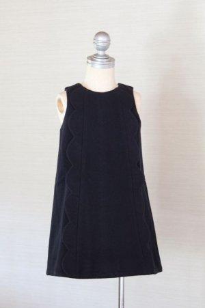 画像1: 【SALE!!30%オフ!!】Hucklebones(ハックルボーンズ) Scalloped Pinafore Dress ウール素材花びらジャンパースカート10歳140cm