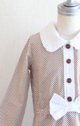 【SALE!!】Hucklebones(ハックルボーンズ) Ditsy Print Short Dress プリントショートリボンドレス2歳92cm