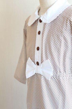 画像4: 【SALE!!】Hucklebones(ハックルボーンズ) Ditsy Print Short Dress プリントショートリボンドレス2歳92cm