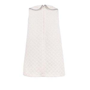 画像3: 【SALE!!30%オフ!!】Hucklebones(ハックルボーンズ) Shift Dress 花びらドレス(オフホワイト)8歳128cm