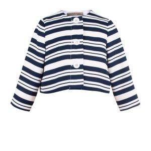 画像2: 【SALE!!30%オフ!!】Hucklebones(ハックルボーンズ) Candy Stripe Jacketストライプジャケット8歳10歳