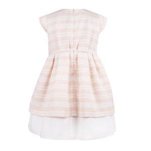 画像3: Hucklebones(ハックルボーンズ) Candy StripeTiered Bodice Dressキャンディーピンクドレス6歳116cm