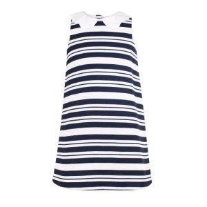 画像2: 【SALE!!30%オフ!!】Hucklebones(ハックルボーンズ) Candy Stripe Shift Dress ストライプシフトドレス 2歳4歳6歳