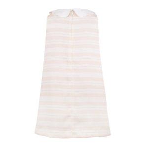 画像2: 【SALE!!30%オフ!!】Hucklebones(ハックルボーンズ) Candy Stripe Shift Dress ストライプシフトドレス(ピンク)8歳128cm