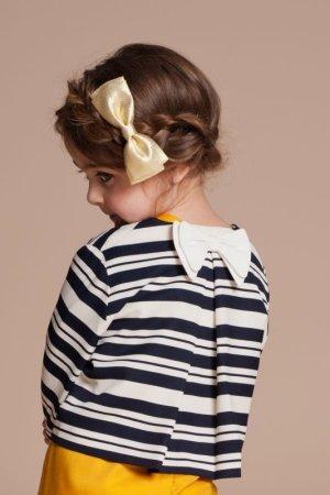 画像1: 【SALE!!30%オフ!!】Hucklebones(ハックルボーンズ) Candy Stripe Jacketストライプジャケット8歳10歳