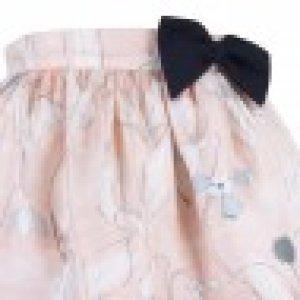 画像2: 【SALE!!30%オフ!!】Hucklebones(ハックルボーンズ) Printed Silk Gathered Skirt プリントシルクギャザースカート 10歳140cm