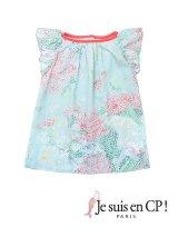 【SALE!!30%OFF!!】 Je suis en CP!(ジュスィザンセーペー) Ladybird Dressレディバードドレス(オリジナルプリント) 2歳82-86cm