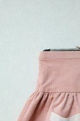 【SALE!!30%OFF!!】 Je suis en CP!(ジュスィザンセーペー) PocketSkirtポケットスカート(ピンクコーデュローイ) 12か月3歳