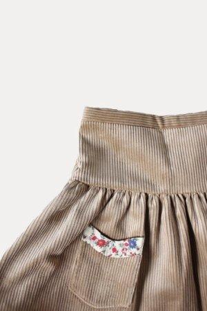 画像1: 【SALE!!30%OFF!!】 Je suis en CP!(ジュスィザンセーペー) PocketSkirtポケットスカート(ハニーコーデュローイ) 12か月