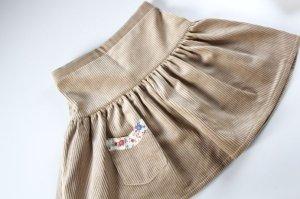 画像3: 【SALE!!30%OFF!!】 Je suis en CP!(ジュスィザンセーペー) PocketSkirtポケットスカート(ハニーコーデュローイ) 12か月