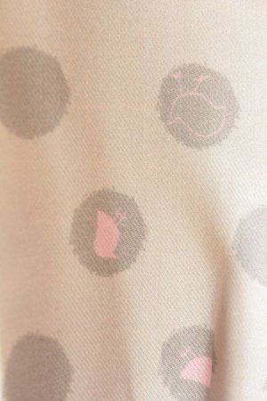 画像4: 【SALE!!30%OFF!!】 Je suis en CP!(ジュスィザンセーペー) Marguerite Dress七分袖ワンピース(ベージュ水玉) 2歳82-86cm