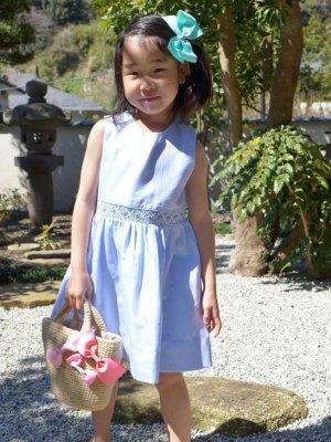 サイズ見本 5歳の女の子が使用