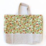 レッスンバッグ(基本サイズ)車プリント通園バッグ・絵本バッグ・手提げ袋