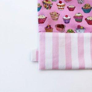 画像2: 体操服入れバッグ(基本サイズ) カップケーキプリント