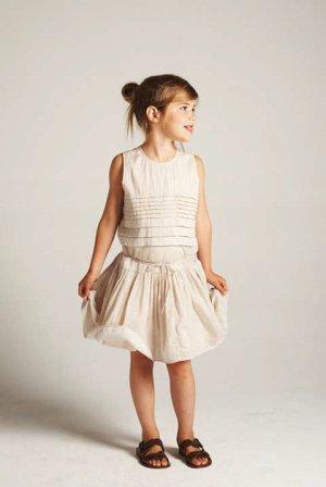 画像3: 【SALE!!40%OFF!!】 LIHO London(リホロンドン)  GINAリネン混フレアワンピース(オレンジ) 3歳8歳