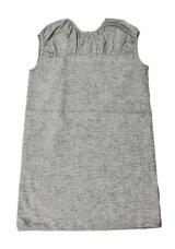 【SALE!!30%OFF!!】 LIHO London(リホロンドン)  MARAネックギャザーワンピース(ブラックシャンブレー) 8歳125cm