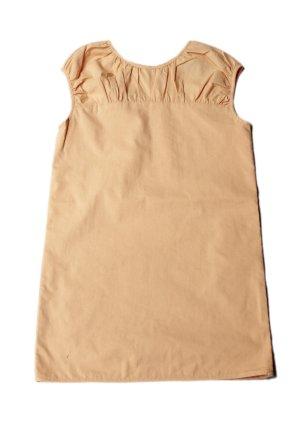 画像1: 【SALE!!30%OFF!!】 LIHO London(リホロンドン)  MARAネックギャザーワンピース(ペールオレンジ) 6歳115cm