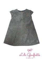 【SALE!!30%OFF!!】 LiLi gaufrette(リリゴーフレット) LACTE Dressコーデュロイワンピース2歳3歳4歳