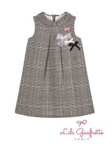 【SALE!!30%OFF!!】 LiLi gaufrette(リリゴーフレット) LIVANA DressツイードAラインワンピース2歳3歳4歳